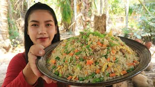 Yummy cooking fried rice with beef recipe  Cooking skill
