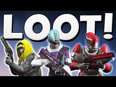Destiny 2 - NEW ROCKSTAR GEAR SET LOOT !!