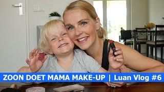 ZOON DOET MAMA MAKE-UP | Luan Bellinga Vlog #6