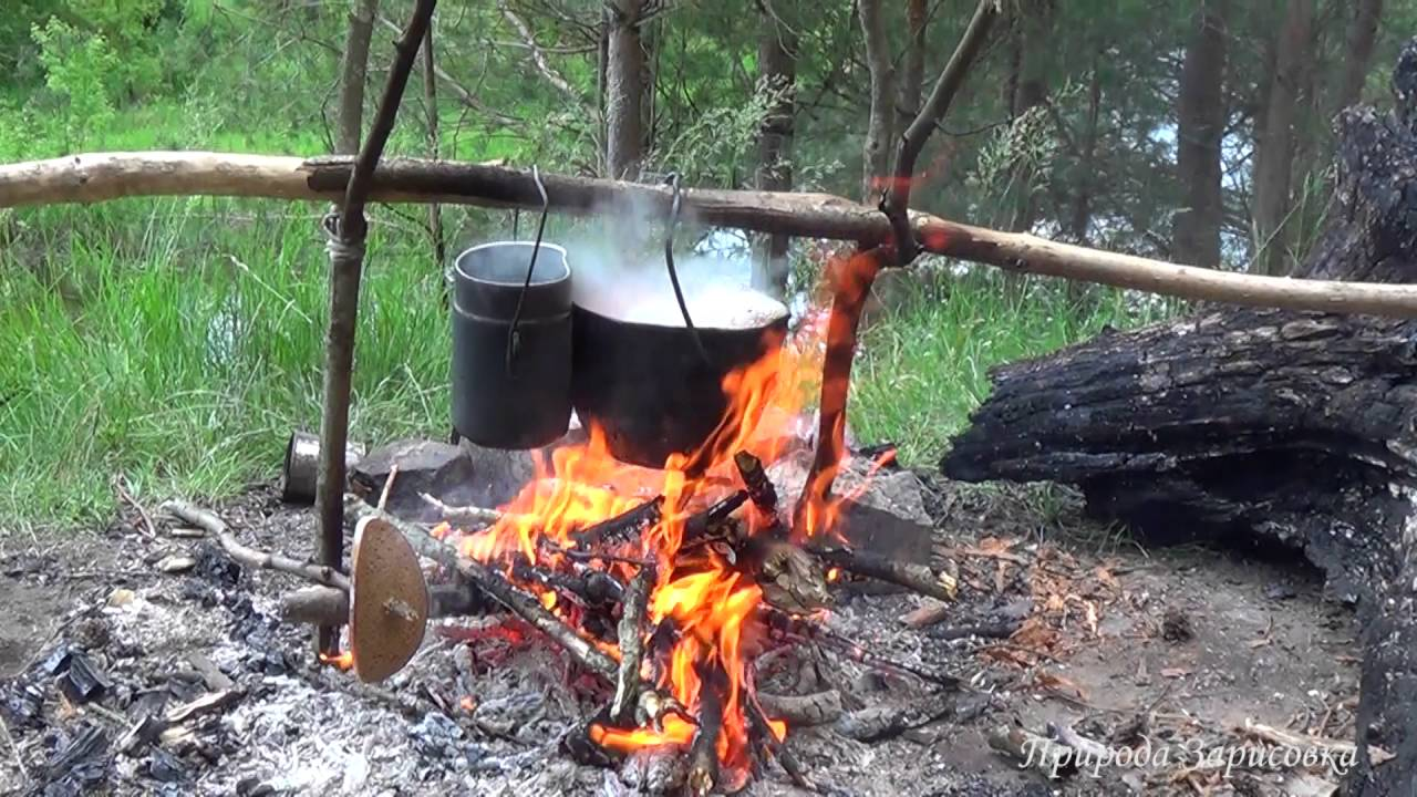 Что приготовить в котелке на костре в походе — 5