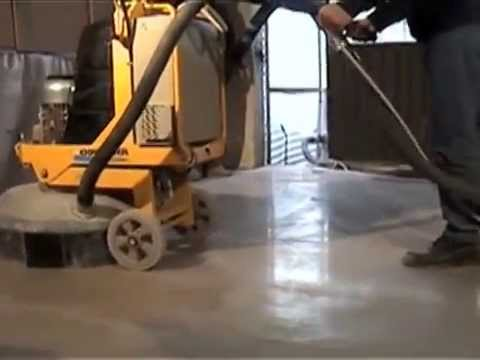 Polishing concrete floor renovation,grinding concrete
