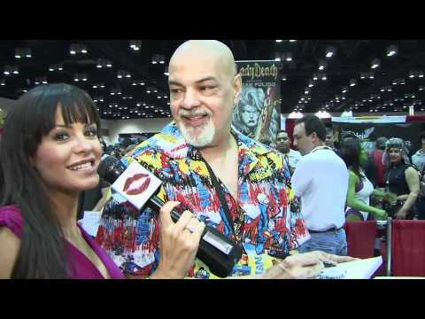 George Perez Interview with Wonder Woman Rachael Carr from Love101tv.com