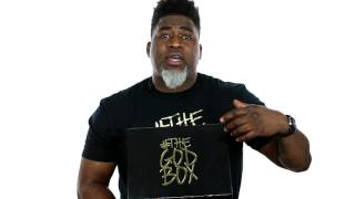 "Gambar cover David Banner Unboxes ""The God Box"" Boxes"