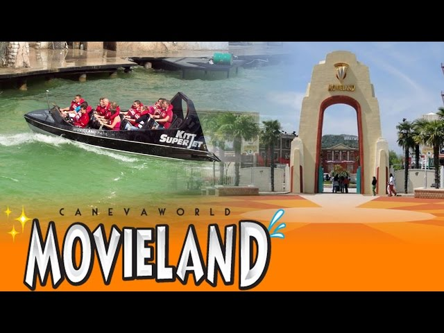 Movieland Park HD (Canevaworld Resort @ Lake Garda, Italy) - Park Video 2015 - Diabolik, Magma,...