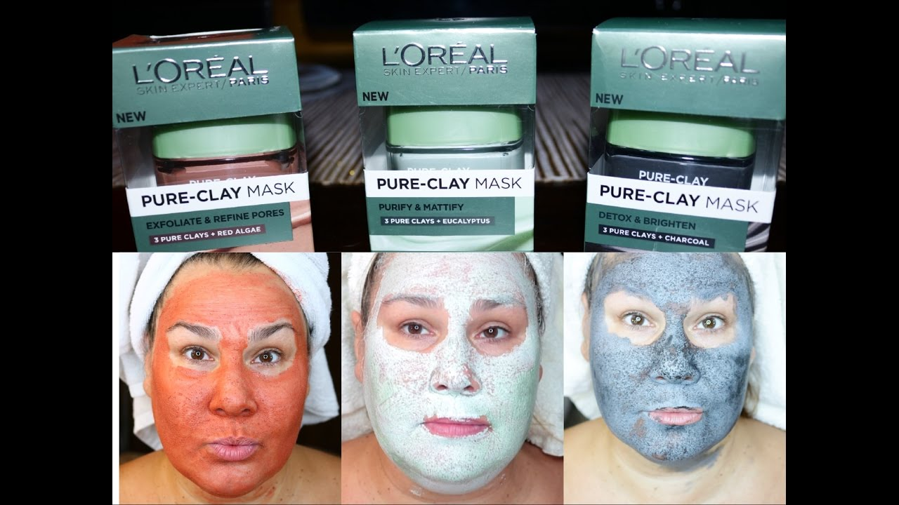 loreal charcoal face mask