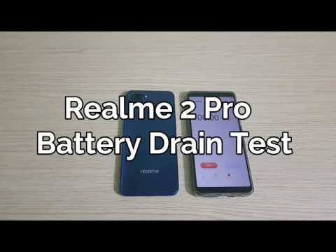 Realme 2 Pro Battery Drain Test 1000%