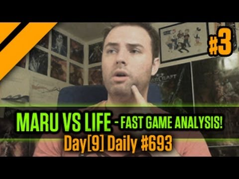 Day[9] Daily #693 - Maru vs Life - Fast Game Analysis! P3
