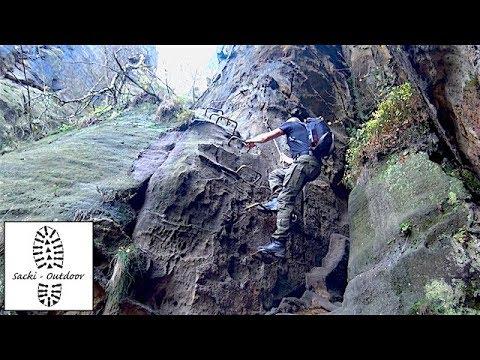 Klettersteig Sächsische Schweiz : Tour: auf steigen der sächsischen schweiz teil 1 youtube