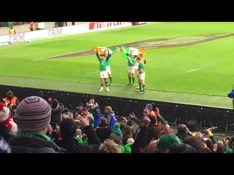 Grand Slam 2018 for Ireland - Six Nations Rugby
