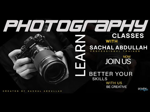 Photography Banner Typography Design  Tutorial Photoshop  - how to design a banner thumbnail