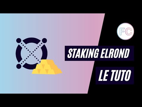 Le tuto : Staking Elrond | Phase 1