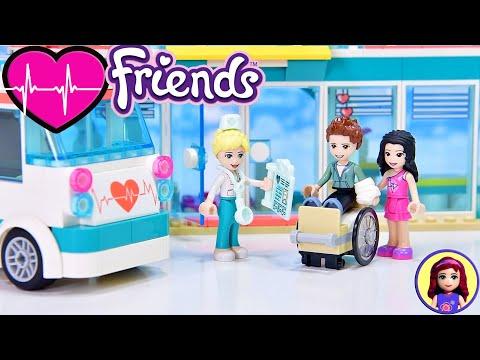 Lego Friends Heartlake City Hospital Build