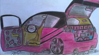 Desenhos de carros tunados da Nannýý P...