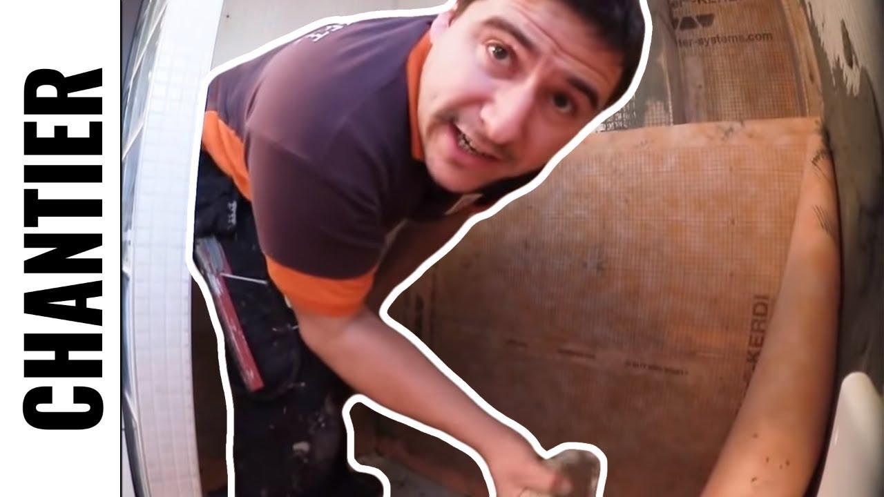 Douche l 39 italienne tanch it compl te shluter kerdi - Etancheite douche italienne ...