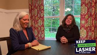 Judge Lasher's discussion with Corinne Koury from the Emmet County prosecutor's office. Part 1 of 3