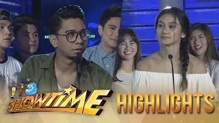 It's Showtime: Teddy and Girltrend Chienna fail to score a point