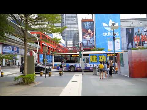 Taipai,taiwan City Tour 2018 HD
