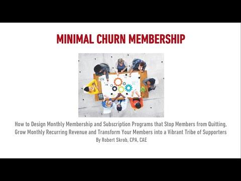 Minimum Churn Membership