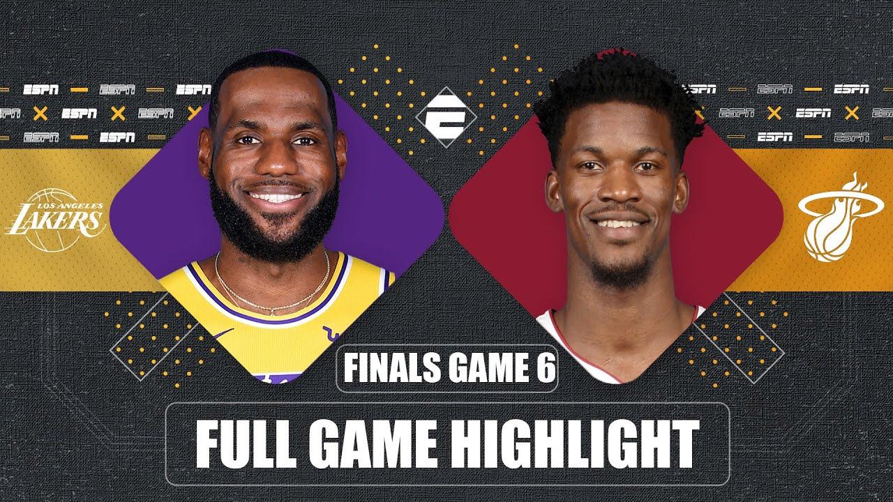 Los Angeles Lakers vs. Miami Heat [GAME 6 HIGHLIGHTS] | 2020 NBA Finals