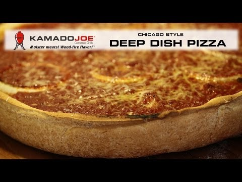 Kamado Joe Deep Dish Pizza