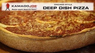 Kamado Joe Deep Dish Pizza