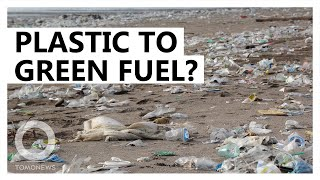 Using sunlight to convert plastic into green fuel - TomoNews