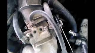 Снятие и чистка дроссельной заслонки на ваз21099 часть 1
