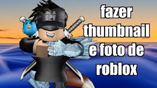 HOW TO MAKE THUMBNAILS AND PHOTOS OF ROBLOX BY CINEMA 4D