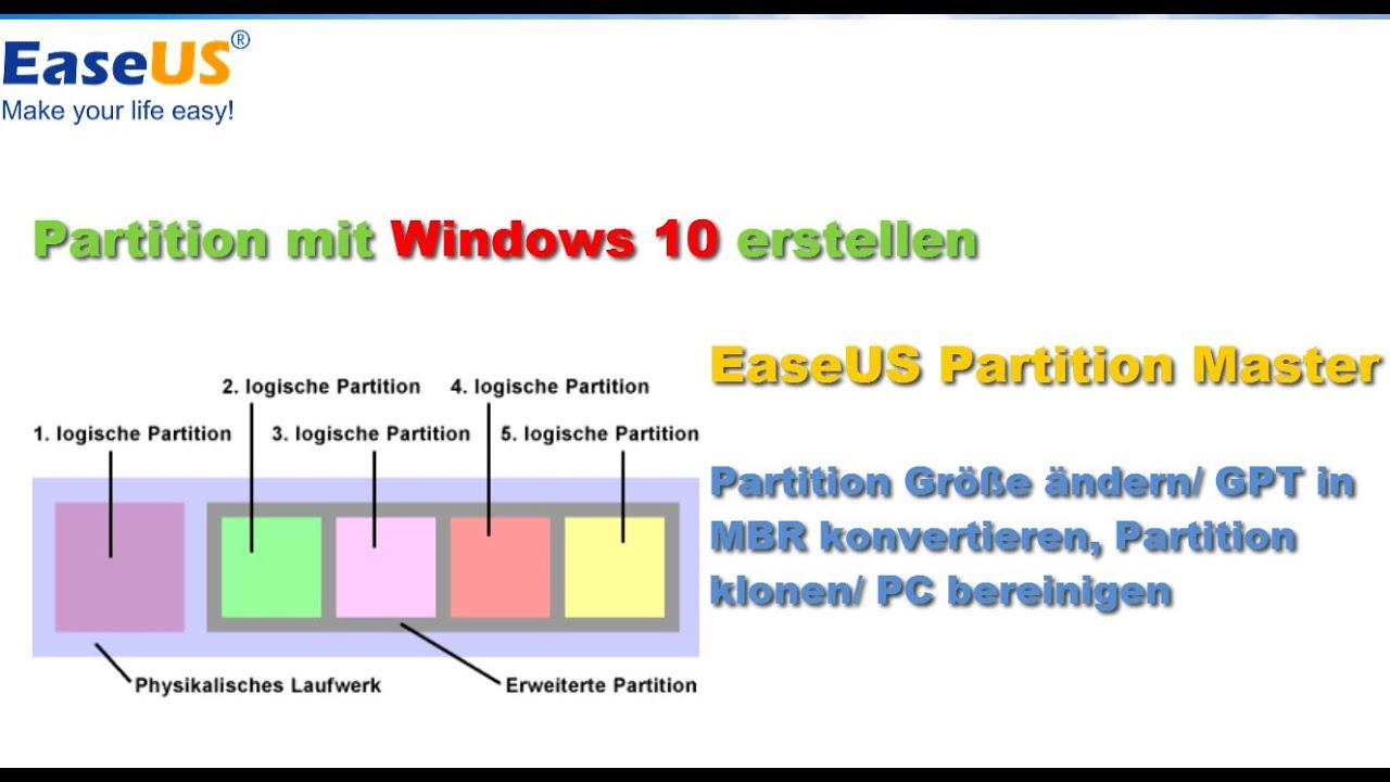 Anleitung Mehrere Partitionen Auf Externe Festplatte Unter