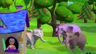 Ek mota haathi song for kids in hindi | Elephant kids song