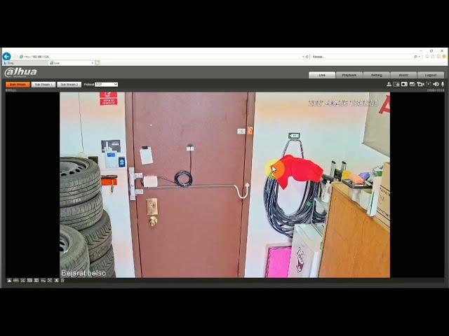 Timelapse beállítás Dahua kamerában