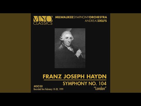 "HAYDN: Symphony No. 104 ""London"""