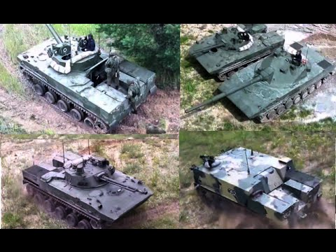 Drone Footage: Newest Russian APCs in full-firing action