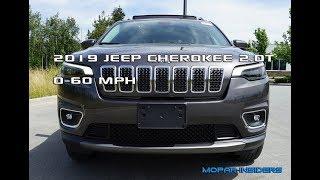 2019 Jeep Cherokee 2.0T 0-100 KM/H (62 MPH)