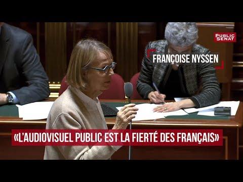""""""" L'audiovisuel public est la fierté des Français"""""""