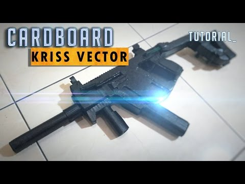 Homemade Cardboard Kriss Vector Tutorial