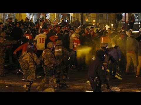 OSU Students React To Big Win, Did The Police Overreact?