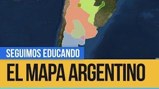 Ciencias Sociales: el mapa argentino - Seguimos Educando