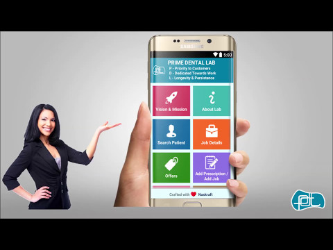 Prime Dental Lab - Dental Practice Management Android & Web App Overview