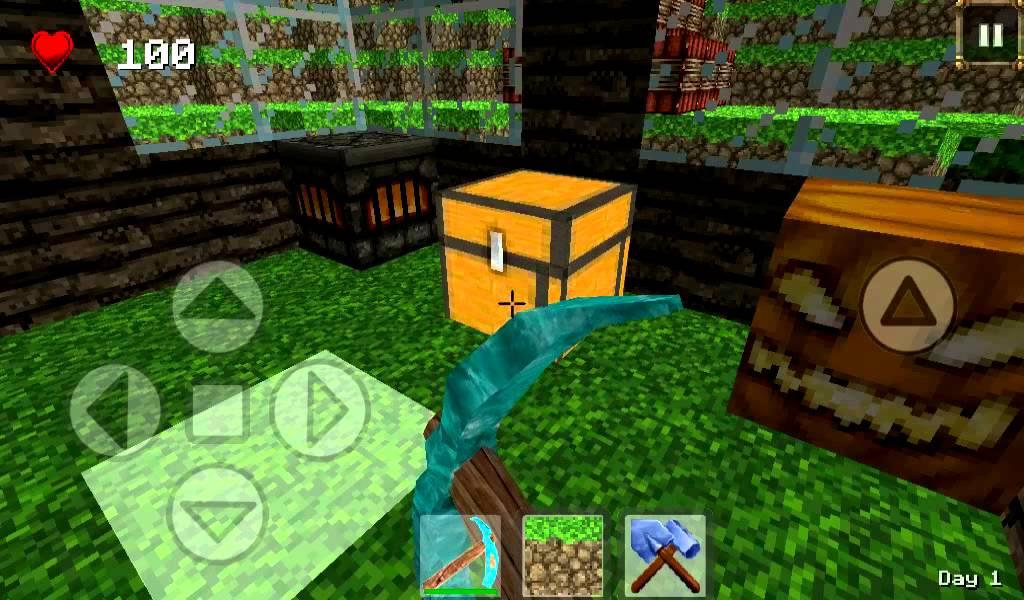 World of craft mine forest