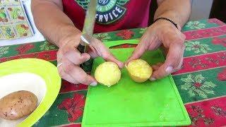 Картошка в Микроволновке / Как правильно приготовить !