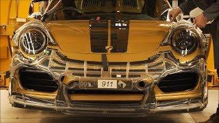 Так Собирают Ваш Porsche 911 Turbo S Эксклюзивная Серия