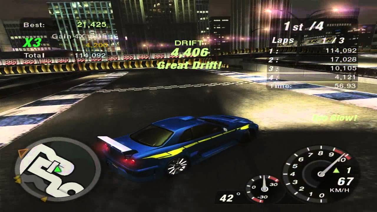 need for speed underground 2 world map race 215. Black Bedroom Furniture Sets. Home Design Ideas