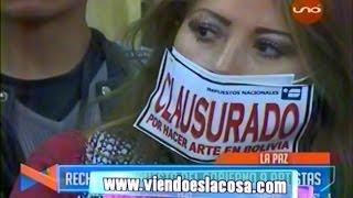 Artistas de La Paz y El Alto rechazan posible pago de impuestos