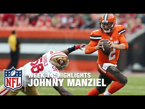 Johnny Manziel Highlights (Week 14) | 49ers vs. Browns | NFL