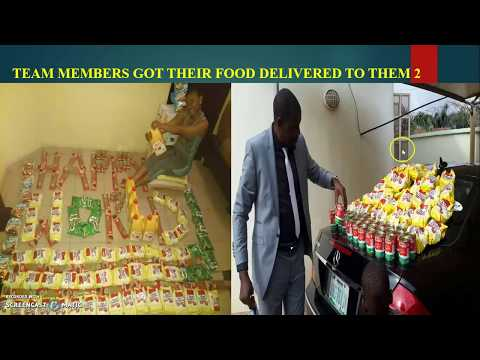 HWMG WARRI FOOD DISTRIBUTION JULY 2017