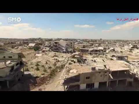 Deraa'da Rejimin yaptığı yıkım