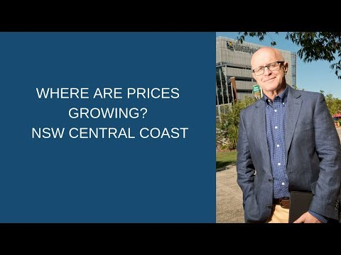 Where Are Prices Growing?   NSW Central Coast