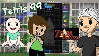 BLOCK DOESN'T FIT? TRY FORCE!   Tetris 99 Zelda Theme   Zelda Month