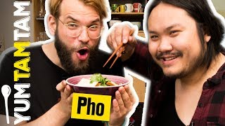 PHO, PHA oder PHÄ? // Selbstgemachte vietnamesische Nudelsuppe // #yumtamtam
